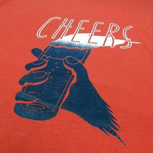 Phatee (ファッティー) CHEERS TEE ヘンプコットン ショートスリーブ Tシャツ / RED|greenplanet|03