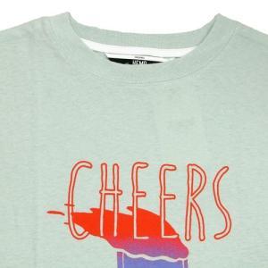Phatee (ファッティー) CHEERS TEE ヘンプコットン ショートスリーブ Tシャツ / MINT greenplanet 02