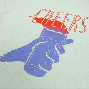 Phatee (ファッティー) CHEERS TEE ヘンプコットン ショートスリーブ Tシャツ / MINT greenplanet 03