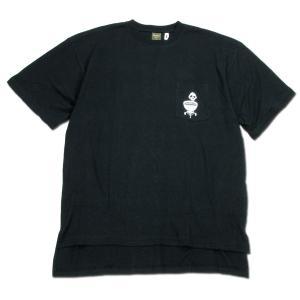 Phatee (ファッティー) BBQ STOVE TEE ヘンプコットン ショートスリーブ Tシャツ / BLACK|greenplanet