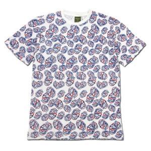 Phatee (ファッティー) ETERNI TEE PRINTED ヘンプコットン ショートスリーブ Tシャツ / BEER LABEL|greenplanet