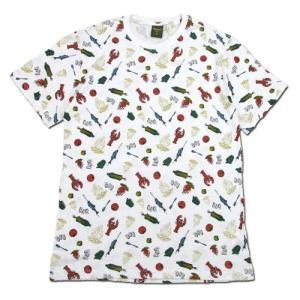 Phatee (ファッティー) ETERNI TEE PRINTED ヘンプコットン ショートスリーブ Tシャツ / BBQ|greenplanet