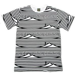 Phatee (ファッティー) ETERNI TEE PRINTED ヘンプコットン ショートスリーブ Tシャツ / MOUNTAIN|greenplanet