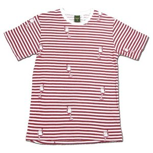 Phatee (ファッティー) ETERNI TEE PRINTED ヘンプコットン ショートスリーブ Tシャツ / WINE|greenplanet
