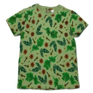Phatee (ファッティー) ETERNI TEE PRINTED ヘンプコットン ショートスリーブ Tシャツ / SPICE|greenplanet