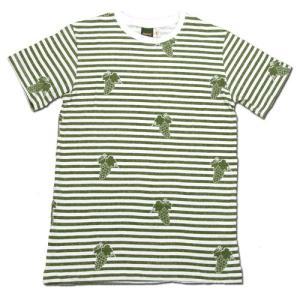 Phatee (ファッティー) ETERNI TEE PRINTED ヘンプコットン ショートスリーブ Tシャツ / MUSCAT|greenplanet