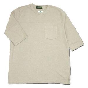 Phatee (ファッティー) SUPERIOR FB POCKET TEE ヘンプコットン 2/3スリーブ Tシャツ/ KINARI|greenplanet