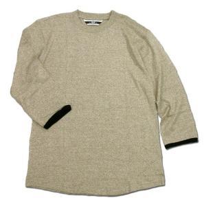 Phatee (ファッティー) TWINKLE SPERIOR ヘンプコットン 7分袖 Tシャツ / OLIVE|greenplanet