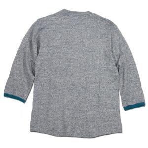 Phatee (ファッティー) TWINKLE SPERIOR ヘンプコットン 7分袖 Tシャツ / NAVY greenplanet 04