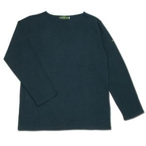 cobano (コバノ) SUPERIOR BOAT L/S TEE ヘンプコットン レディース ボートネック Tシャツ / NAVY|greenplanet