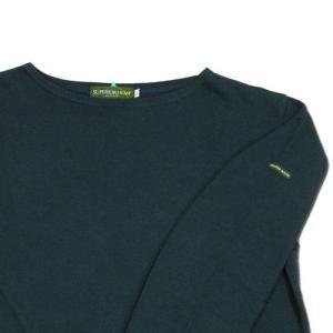 cobano (コバノ) SUPERIOR BOAT L/S TEE ヘンプコットン レディース ボートネック Tシャツ / NAVY|greenplanet|02