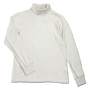 Phatee (ファッティー) SUPERIOR MILD TURTLE NECK TEE ヘンプコットン 長袖 タートルネック Tシャツ / OATMEAL|greenplanet