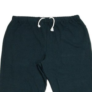 cobano (コバノ) BORDER SOFT PANTS ヘンプコットン レディース テーパード スウェットパンツ / NAVY|greenplanet|02
