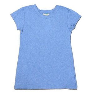 cobano (コバノ) O/C SPROUT TEE オーガニックコットン フレンチスリーブ Tシャツ / TURQUOISE|greenplanet