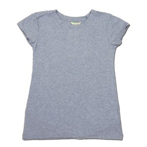 cobano (コバノ) O/C SPROUT TEE オーガニックコットン フレンチスリーブ Tシャツ / L.NAVY|greenplanet