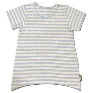 Phatee KIDS (ファッティー キッズ) KIDS TEE OP キッズ Tシャツ ワンピース / BEIGE BORDER|greenplanet