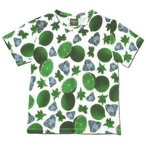 Phatee KIDS (ファッティー キッズ) KIDS BORDER S/S TEE キッズ マウンテン ボーダー Tシャツ / MOJITO|greenplanet