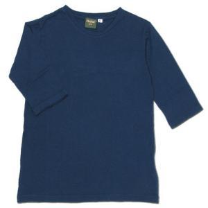Phatee KIDS (ファッティー キッズ) KIDS TEE 2/3 キッズ 7分袖 Tシャツ / NAVY|greenplanet