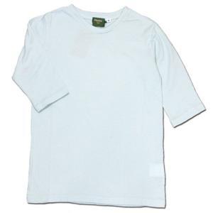 Phatee KIDS (ファッティー キッズ) KIDS TEE 2/3 キッズ 7分袖 Tシャツ / SAX|greenplanet