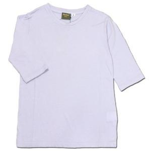 Phatee KIDS (ファッティー キッズ) KIDS TEE 2/3 キッズ 7分袖 Tシャツ / LAVENDER|greenplanet