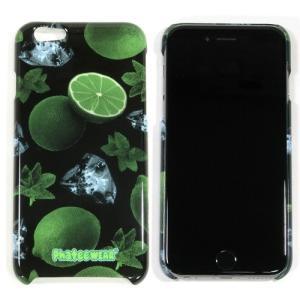 Phatee (ファッティー) I-PHONE 6 , 6S CASE for iPhone6s / iPhone6 ハード ケース カバー ジャケット 4.7インチ / MOJITO BLACK|greenplanet