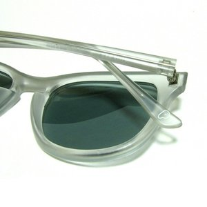 Phatee (ファッティー) i WEAR STAND POLARIZED ウエリントン メガネ サングラス  / CLEAR x SMOKE|greenplanet|04