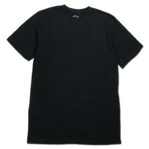 BLACKCAT SURPLUS (ブラックキャットサープラス) SS TEE LIGHTWEIGHT ヘンプオーガニックコットン ライトウエイト Tシャツ / BLACK|greenplanet