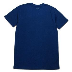 BLACKCAT SURPLUS (ブラックキャットサープラス) SS TEE LIGHTWEIGHT ヘンプオーガニックコットン ライトウエイト Tシャツ / BLUE|greenplanet