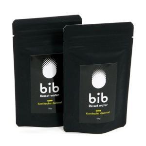 bib Re:set water (ヴィヴリセットウォーター)  リセットウォーター パウダータイプ コンブチャ x 麻炭 x 乳酸菌 50g 【2パックセット】|greenplanet