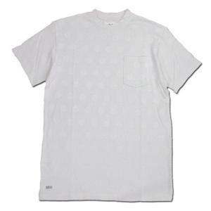 BLACKCAT SURPLUS (ブラックキャットサープラス) POCKETS SHORT SLEEVE : DOT ヘンプオーガニックコットン ポケット Tシャツ / OFF|greenplanet