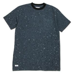 BLACKCAT SURPLUS (ブラックキャットサープラス) POCKETS SHORT SLEEVE : GRANITE ヘンプオーガニックコットン ポケット Tシャツ / GREY|greenplanet