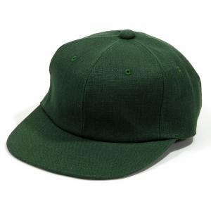 BLACKCAT SURPLUS (ブラックキャットサープラス) FARMERS CAP ヘンプオーガニックコットン ベースボールキャップ / GREEN|greenplanet
