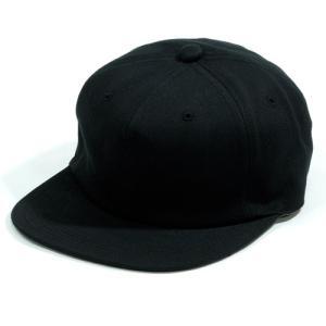 BLACKCAT SURPLUS (ブラックキャットサープラス) FARMERS CAP ヘンプオーガニックコットン ベースボールキャップ / BLACK DENIM|greenplanet