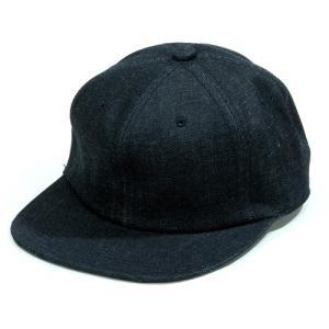 BLACKCAT SURPLUS (ブラックキャットサープラス) FARMERS CAP ヘンプオーガニックコットン ベースボールキャップ / INDIGO|greenplanet