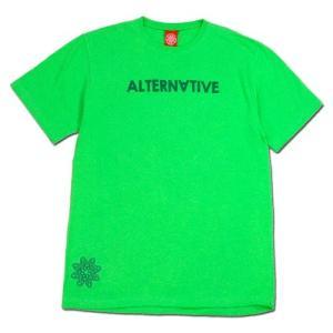 Tokyo Hemp Connection (トウキョウヘンプコネクション) ALTERNATIVE CO-OP TEE グラフィック Tシャツ / N.GREEN|greenplanet