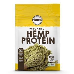 Hemp Foods Japan (ヘンプフーズジャパン) Hemp Protein ヘンププロテインパウダー 有機麻の実プロテイン 500g|greenplanet