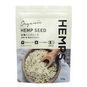 HEMPS ヘンプス 有機ヘンプシード ヘンプシードナッツ 有機麻の実ナッツ 120g