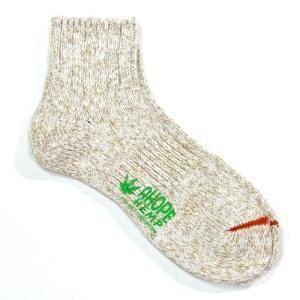 A HOPE HEMP (アホープヘンプ) HEMP SOCKS 2 メンズ レディース ヘンプコットン ソックス 靴下 / BEIGE greenplanet