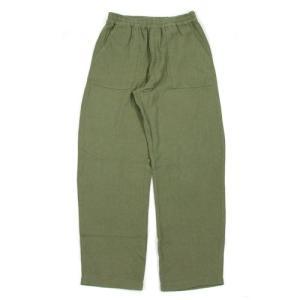 A HOPE HEMP (アホープヘンプ) HEMP FLANNEL BAKER EASY PANTS ヘンプオーガニックコットン フランネル パンツ / GRN greenplanet