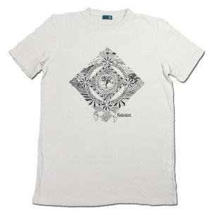 RESTANDART (リスタンダート) DANCE T-SHIRTS ヘンプ オーガニックコットン Tシャツ / WHITE|greenplanet