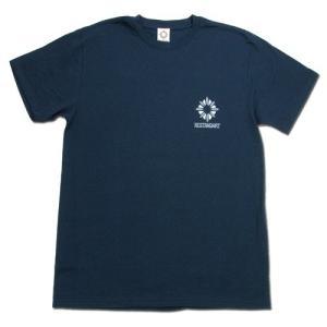 RESTANDART (リスタンダート) MILDELICS OC T-SHIRTS オーガニックコットン Tシャツ / NAVY|greenplanet