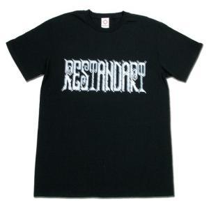 RESTANDART (リスタンダート) 8BIT OC T-SHIRTS オーガニックコットン Tシャツ / BLACK|greenplanet