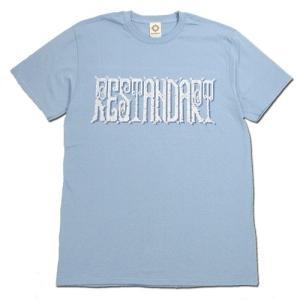 RESTANDART (リスタンダート) 8BIT OC T-SHIRTS オーガニックコットン Tシャツ / BLUE|greenplanet