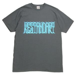 RESTANDART (リスタンダート) 8BIT OC T-SHIRTS オーガニックコットン Tシャツ / GREY|greenplanet