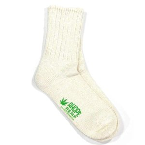 A HOPE HEMP (アホープヘンプ) HEMP SOCKS メンズ レディース ヘンプコットン ソックス 靴下 / NATURAL greenplanet