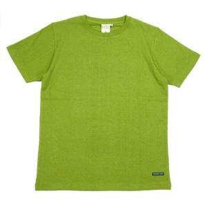 A HOPE HEMP (アホープヘンプ) REGULAR S/S TEE ヘンプコットン ショートスリーブ Tシャツ / MONSOON|greenplanet