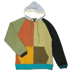 A HOPE HEMP (アホープヘンプ) REGULAR FULL ZIP PARKA ジップアップ パーカー / CRAZY|greenplanet