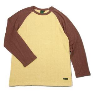 A HOPE HEMP (アホープヘンプ) RAGLAN L/S TEE ヘンプコットン ラグラン ロングスリーブ Tシャツ / G.HARVEST x BROWN|greenplanet