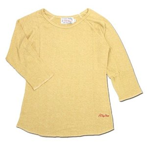 A HOPE HEMP (アホープヘンプ) RAGLAN 3/4 WOMEN'S TEE  ヘンプコットン レディース ラグラン 7分袖 Tシャツ / G.HARVEST|greenplanet