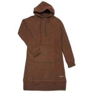 A HOPE HEMP (アホープヘンプ) PULL OVER PARKA ONE PIECE レディース パーカー ワンピース / MUDDY BROWN|greenplanet